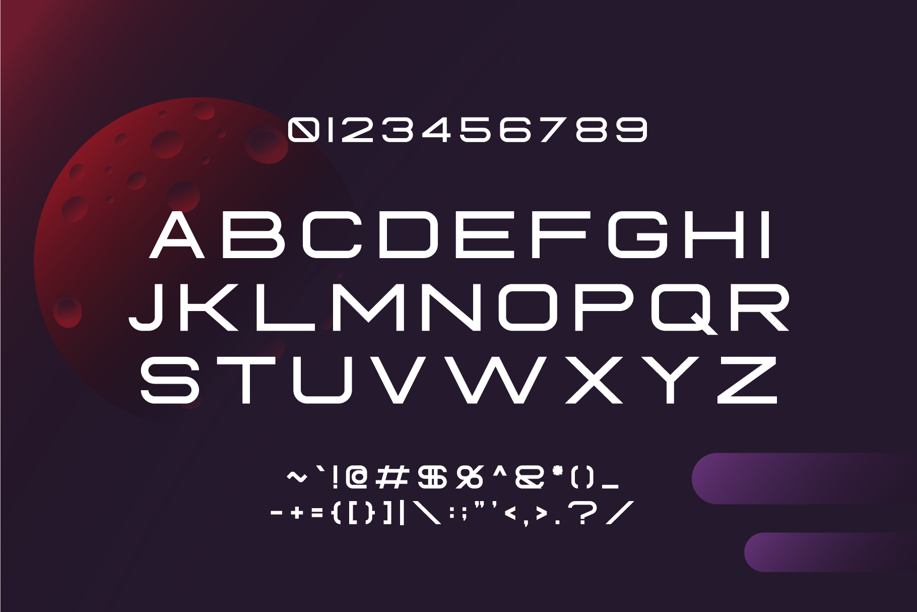 Fearce Typeface & Space Flyer example image 3