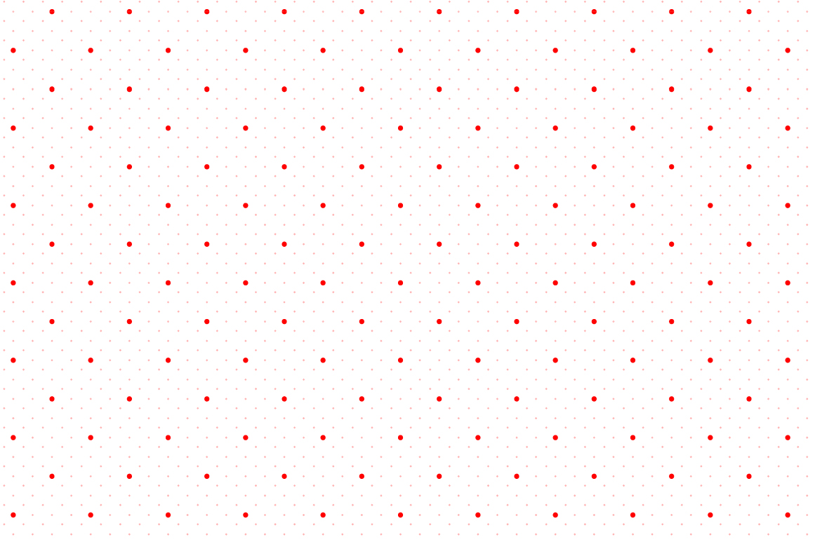 Dotted seamless patterns. Vector set example image 15