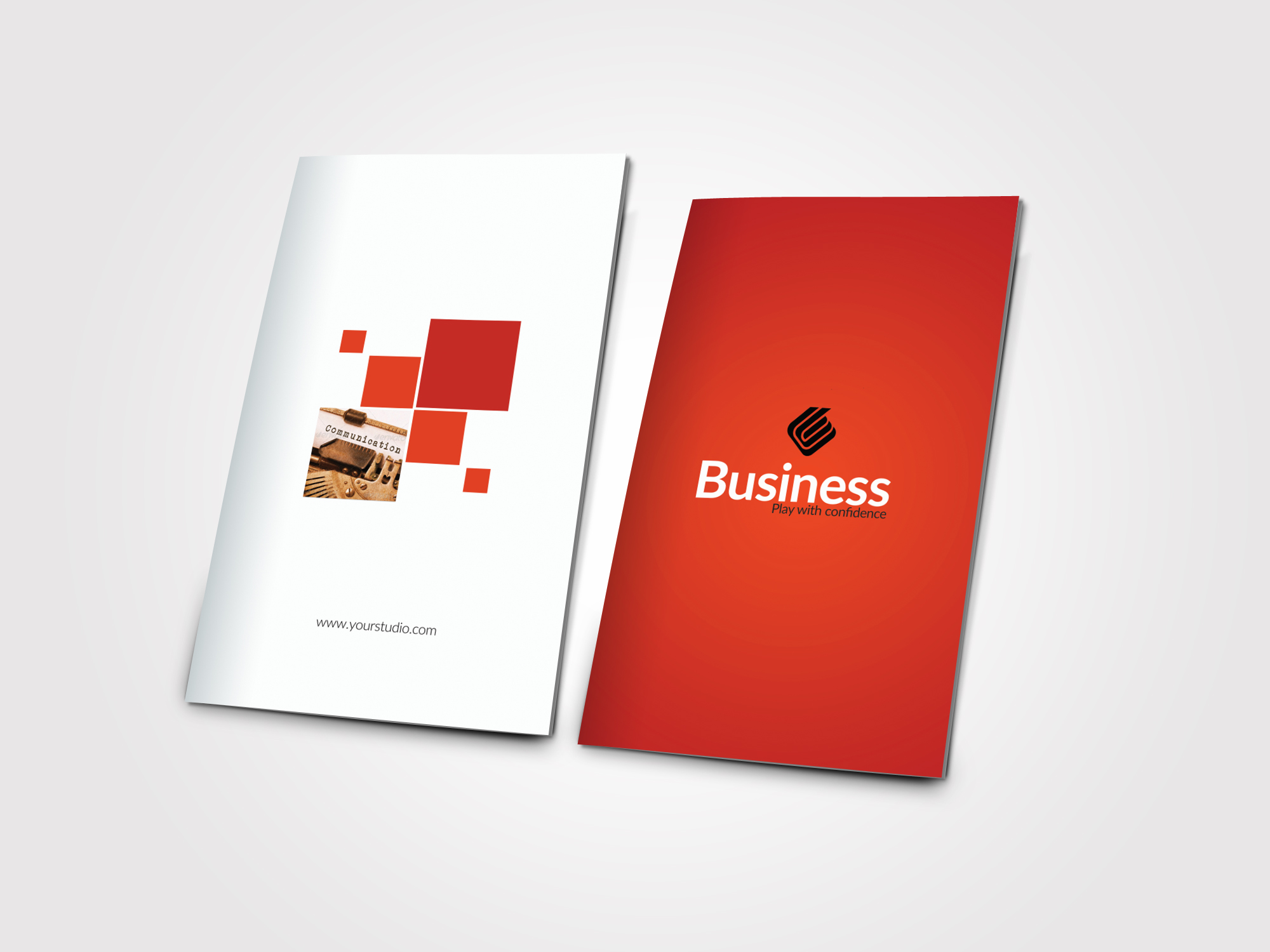 Business Bifold Brochure Templates example image 3
