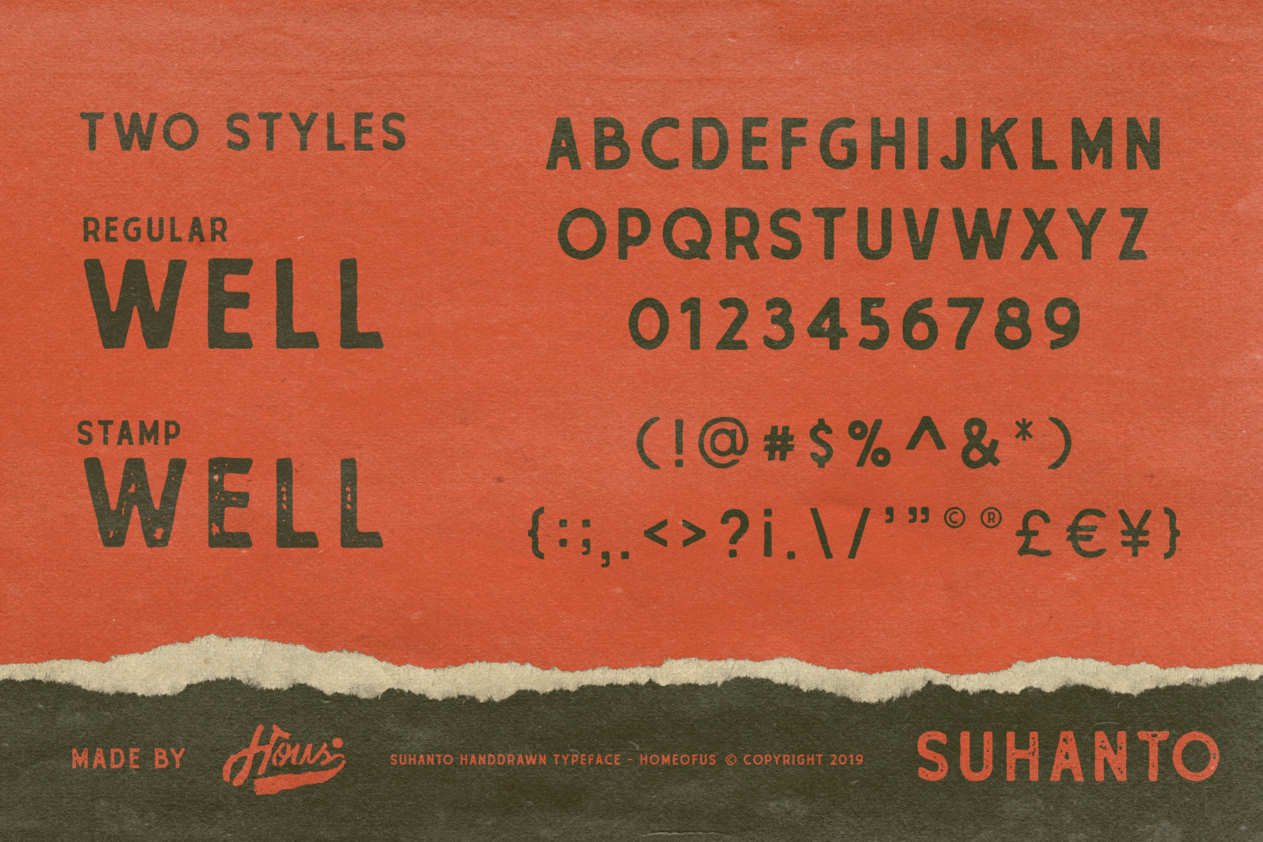 Suhanto Handdrawn Typeface example image 3