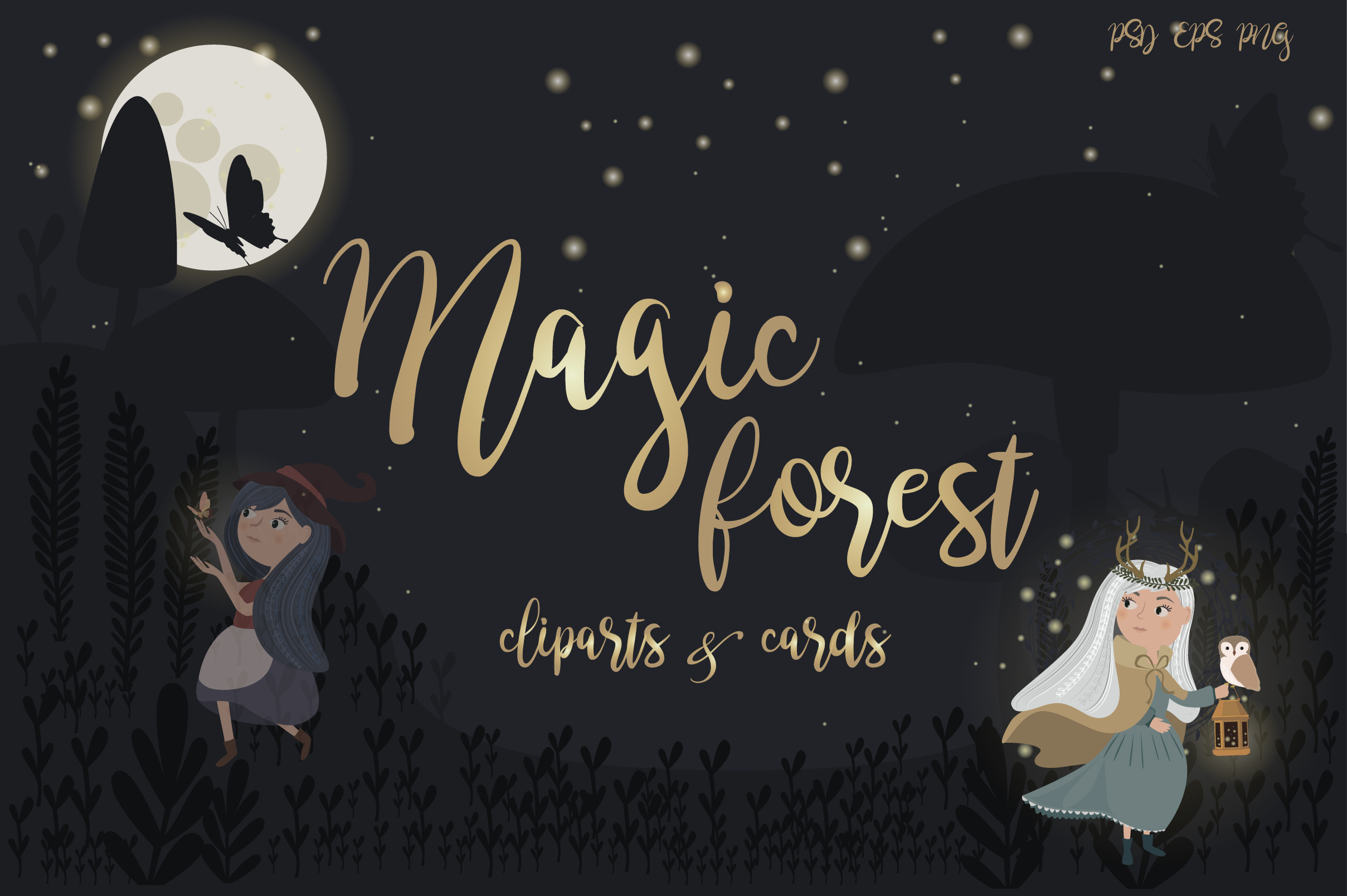 Magic forest collection example image 1