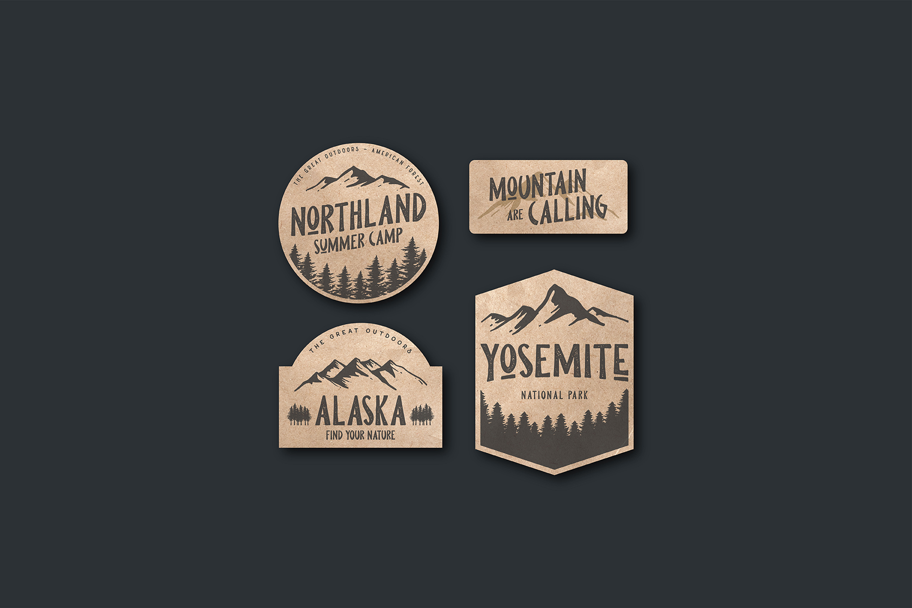 Pine Forest - Outdoor Typeface example image 4