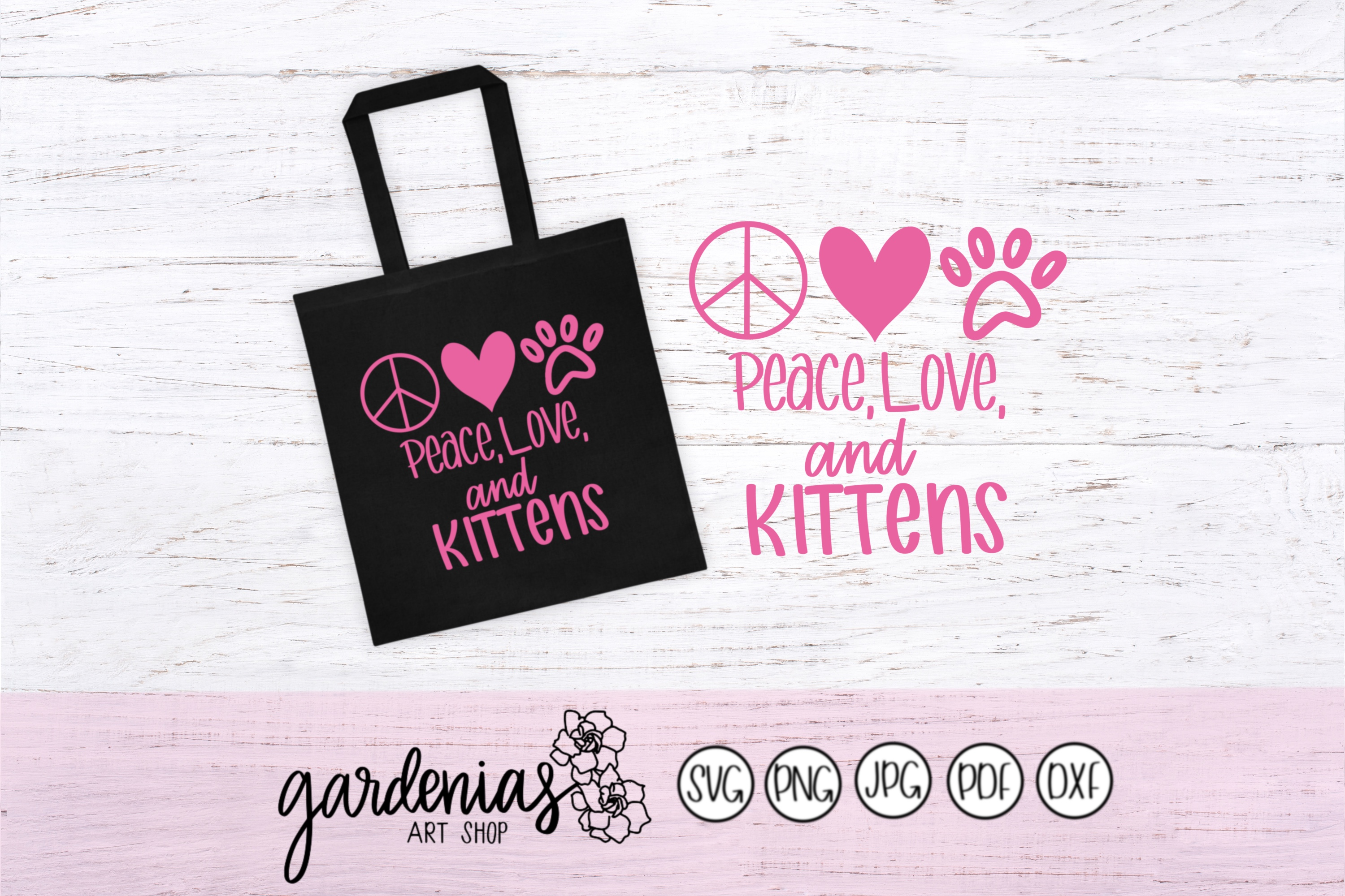 Peace Love and Kittens example image 1
