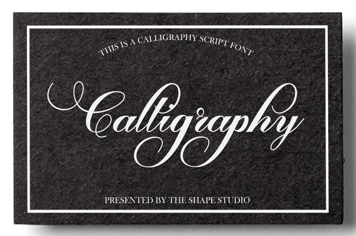 Calliope Script example image 8