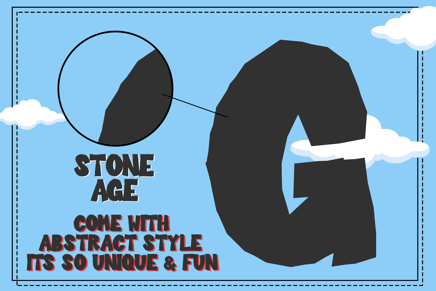 Stone Age - Display Font example image 2