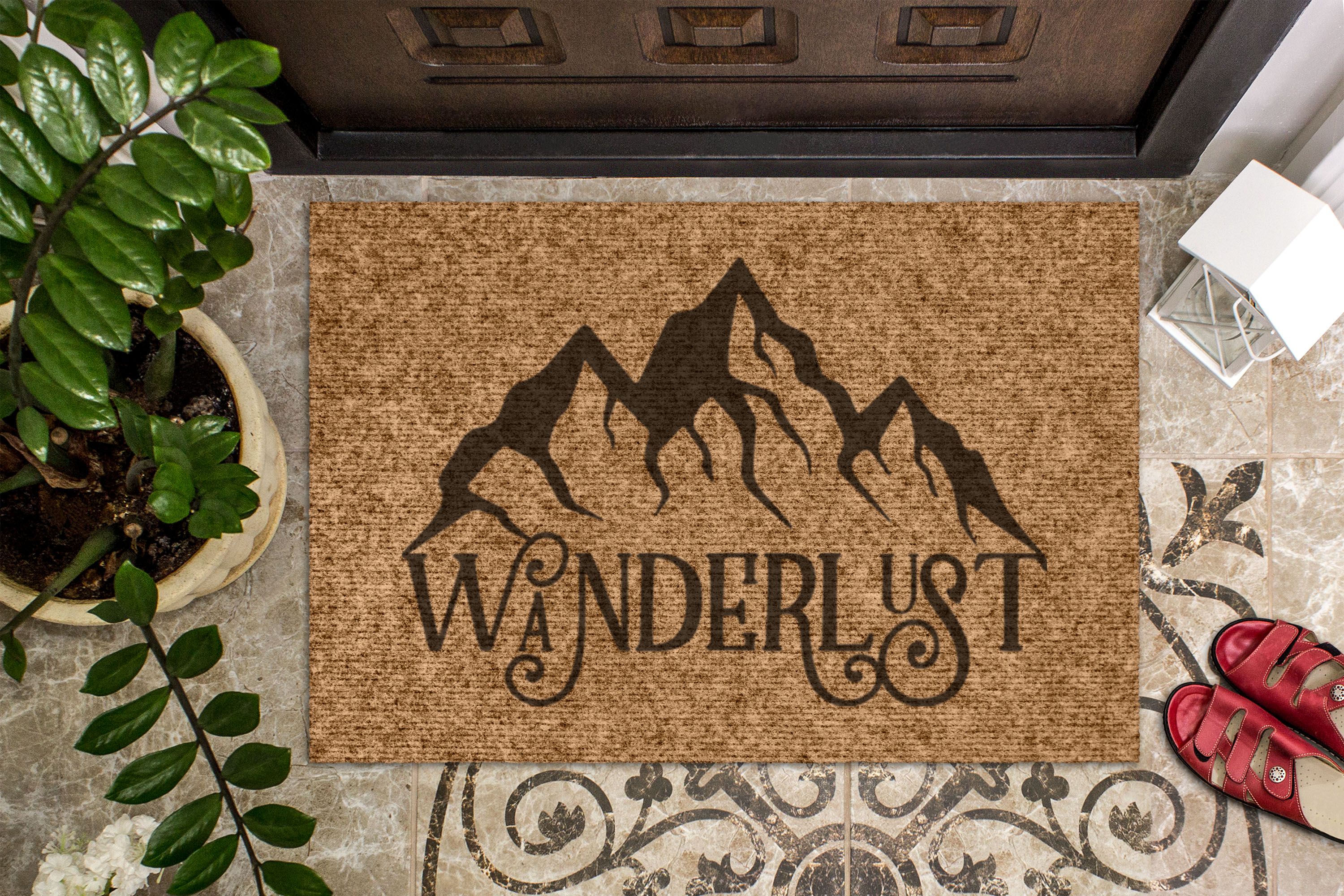 Wanderlust - Mountain Travel SVG File 1252 example image 2