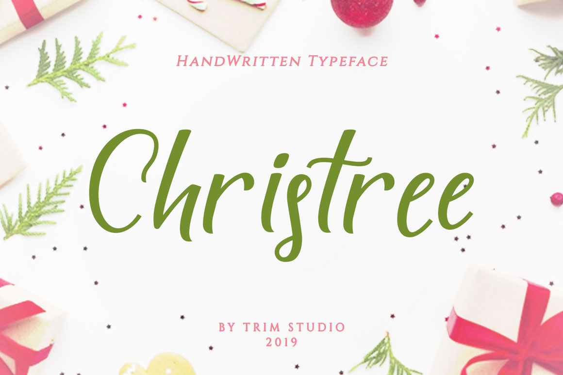 Trim Studio Christmas Bundle Fonts Collection example image 7