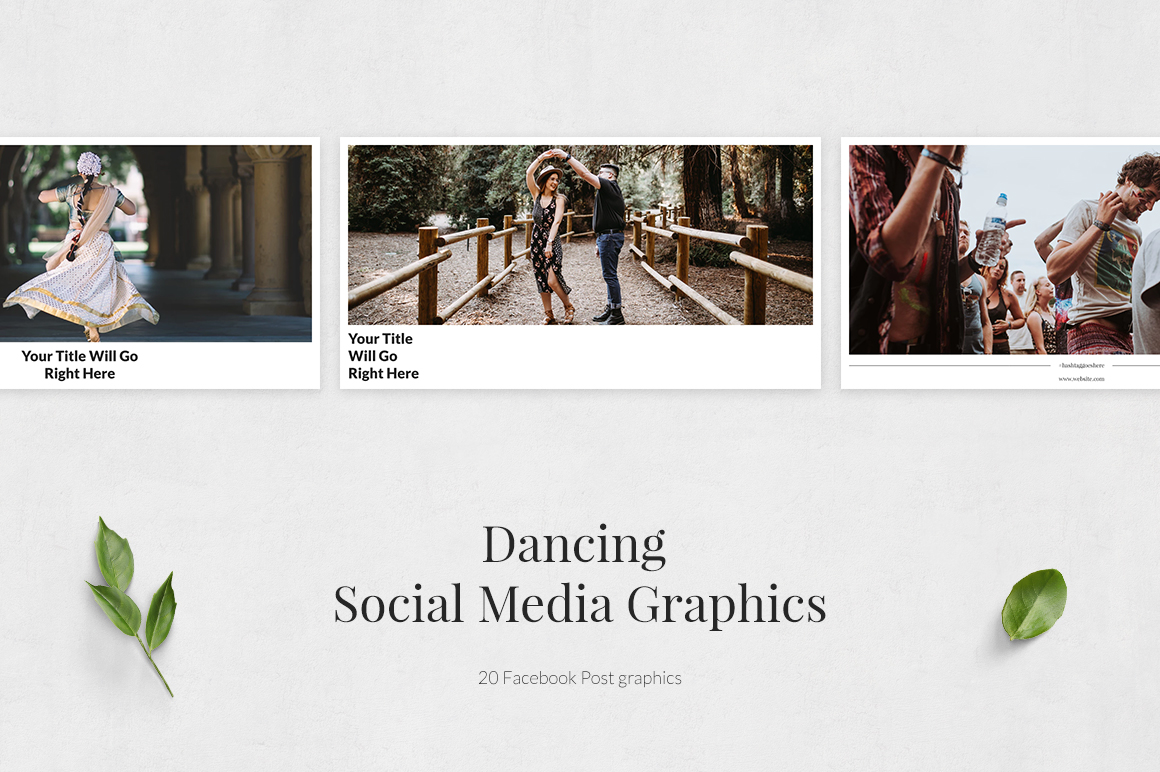 Dancing Facebook Posts example image 2