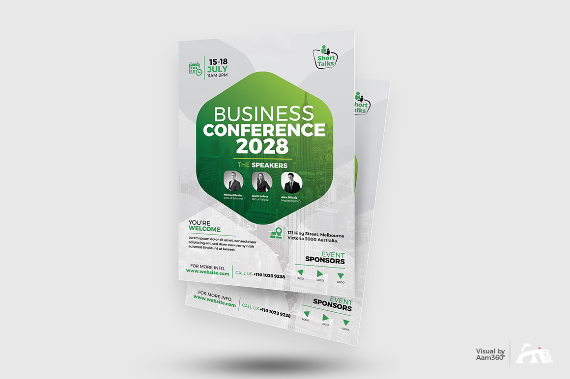 Conference Flyer example image 2