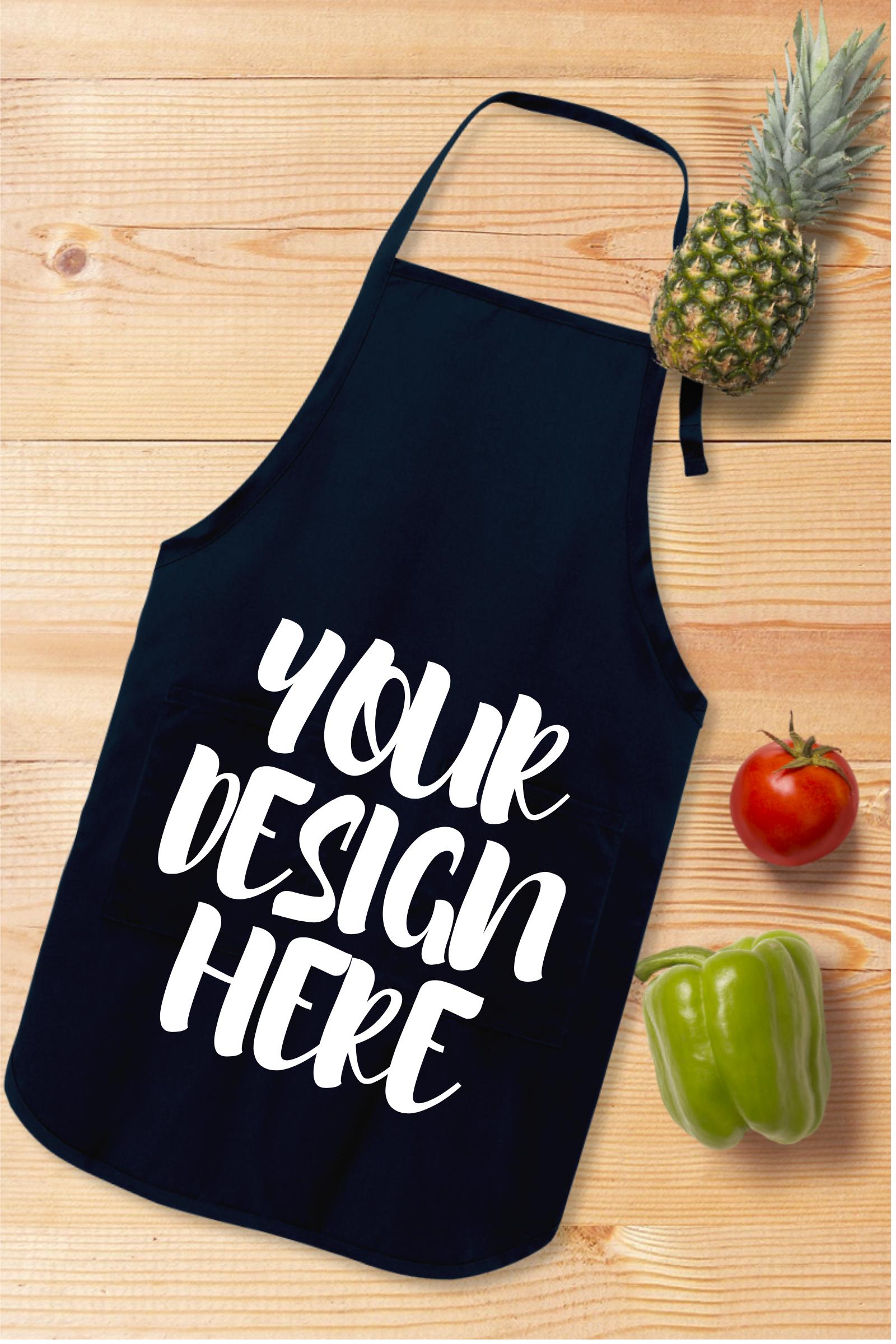 Apron Mock Ups Bundle With Kitchen Theme - 6 example image 3
