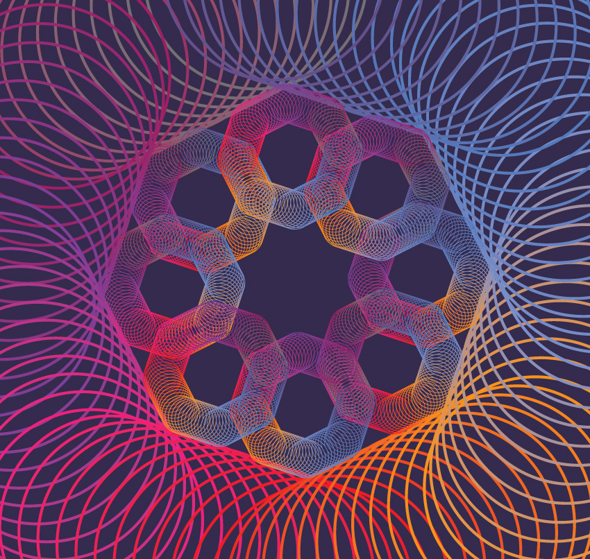 Geometric vector backgrounds example image 5
