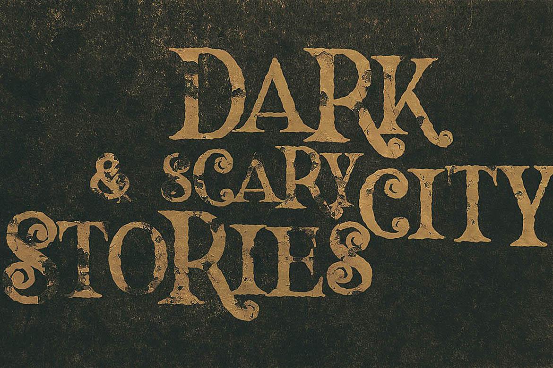 Hallowen Typeface example image 6