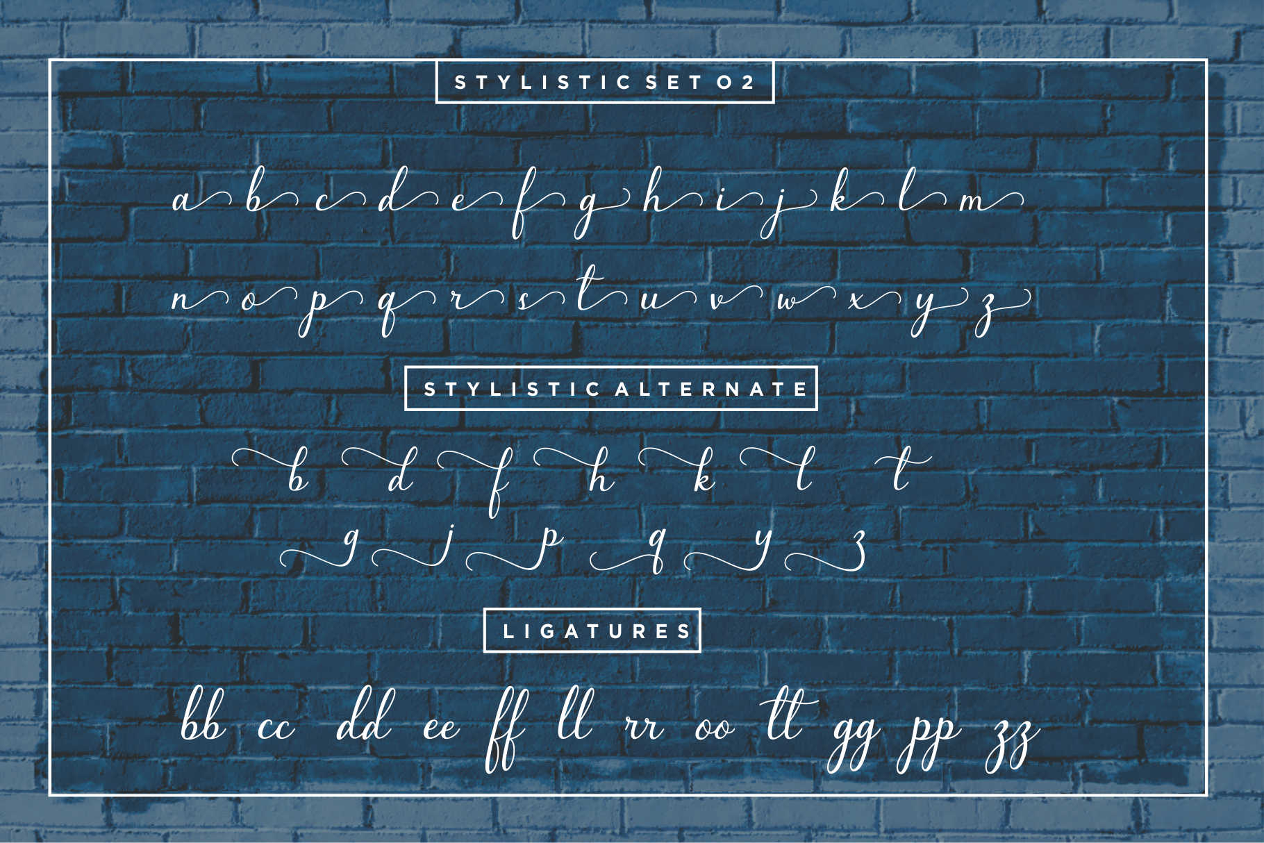 Bluebell - Calligraphy Font example image 11