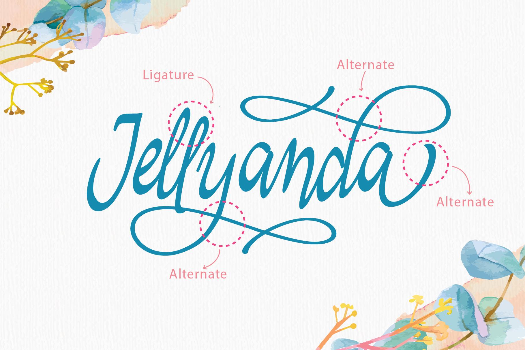 Jellyanda Script example image 4