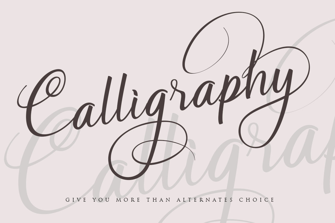 Soulmate//Luxury beauty calligraphy example image 2
