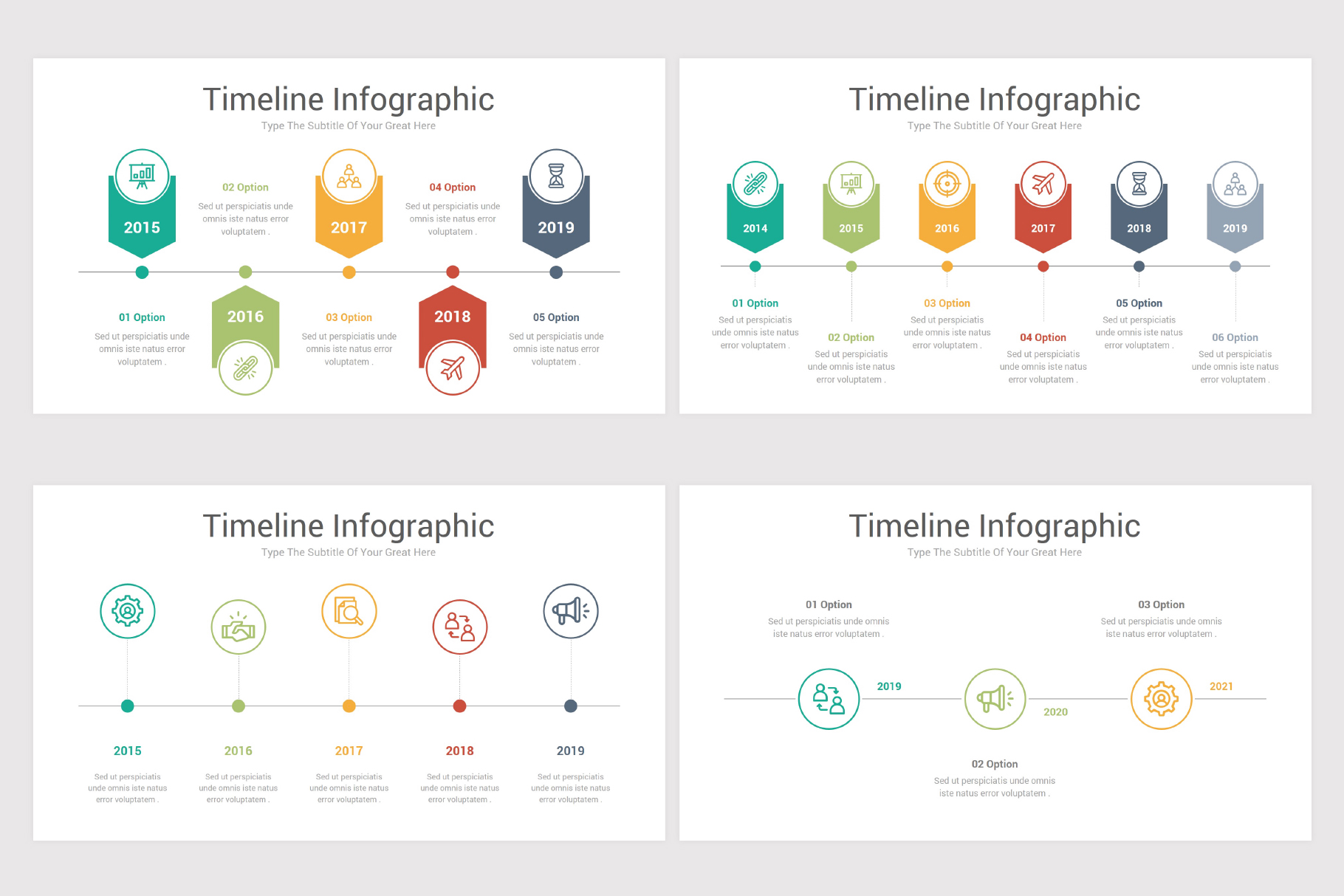 Keynote Timeline Infographics Pack-2 example image 8