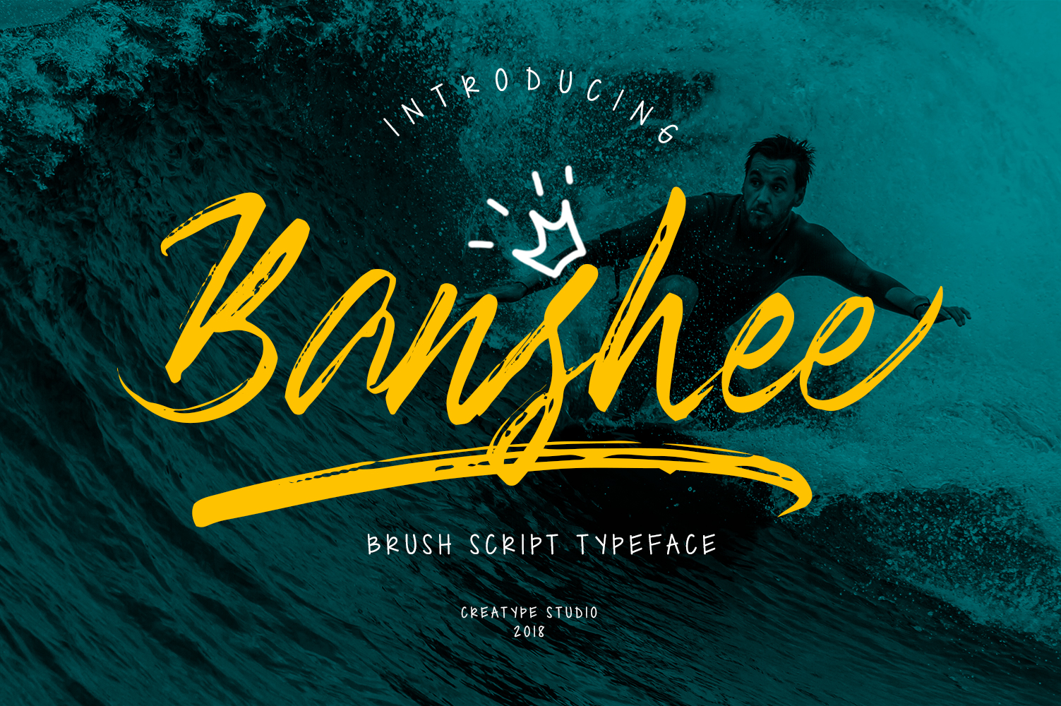 Banshee Brush Script example image 1