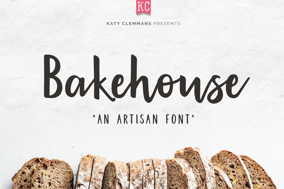 Bakehouse script font example image 1