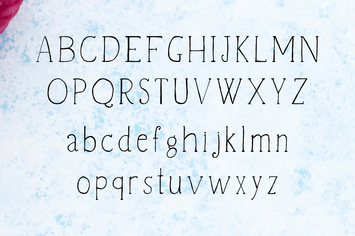 Vanett A Beautiful Handwritten Font example image 2