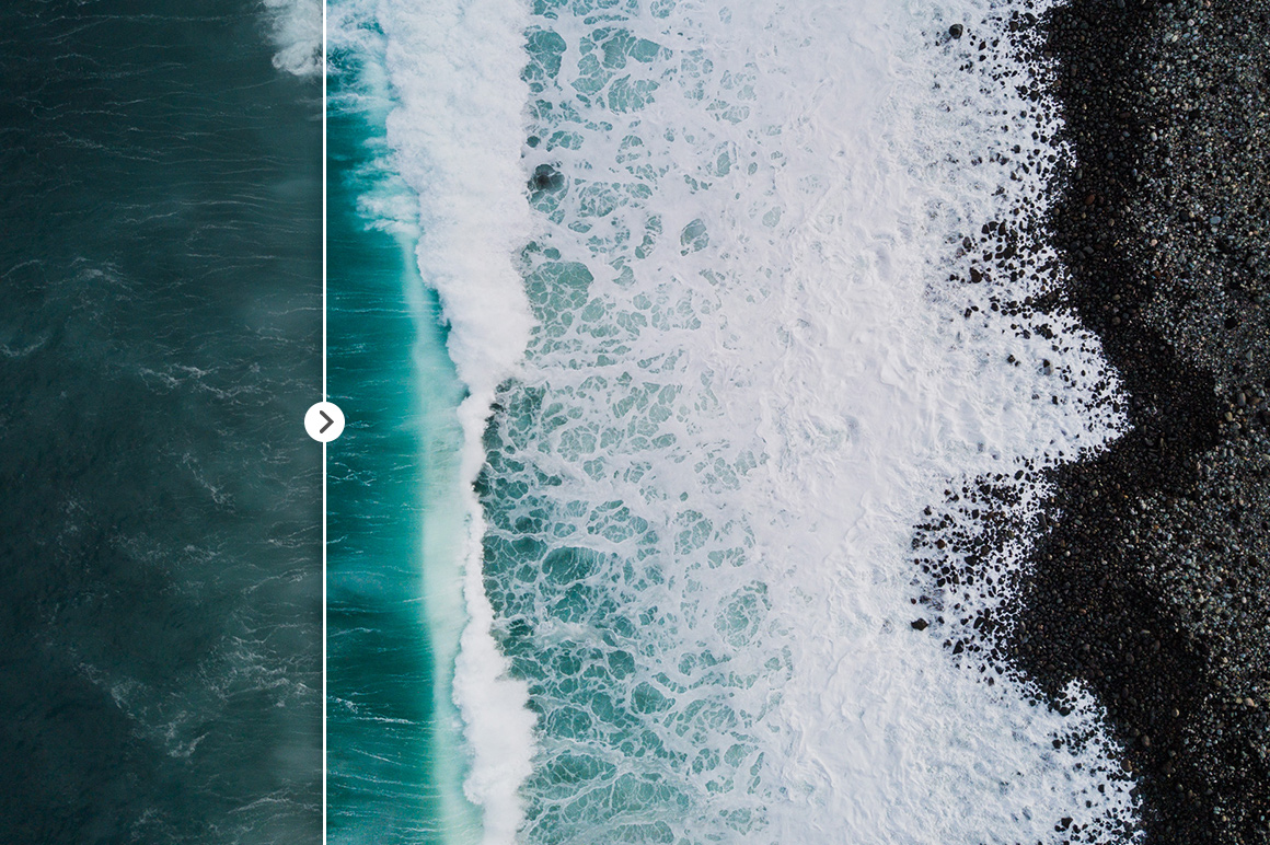 45 Lightroom Presets for Aerial Photography with Drones example image 9