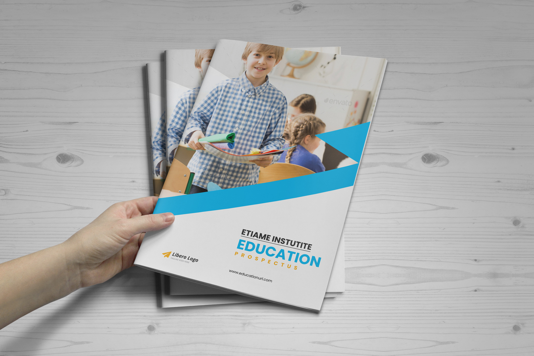 Education Prospectus Brochure v7 example image 12