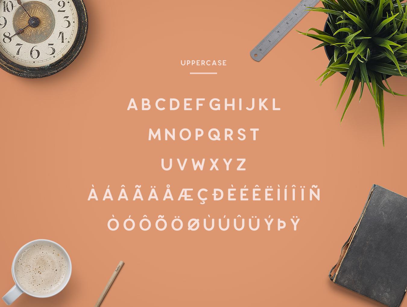 Enriq Round Sans Serif Font example image 2