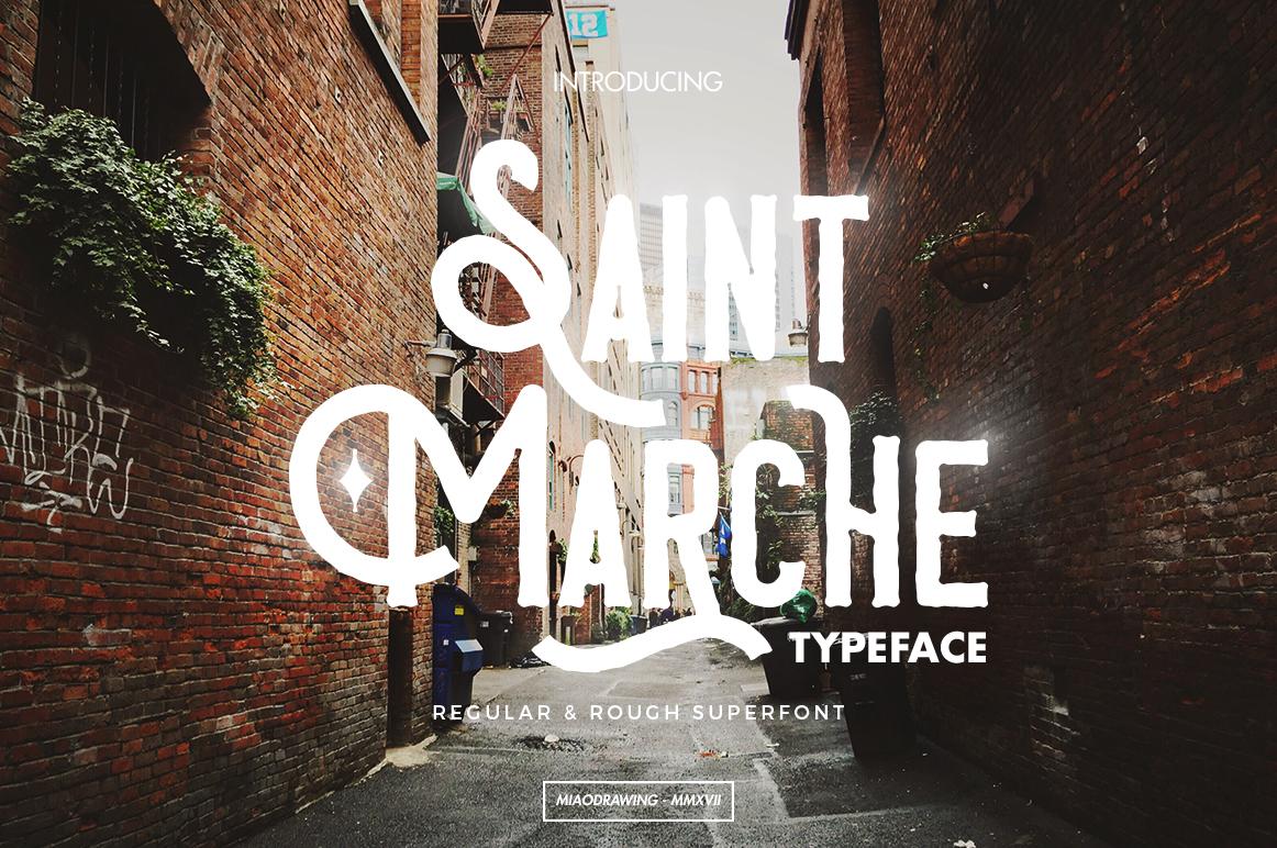 Saint Marche Typeface example image 1