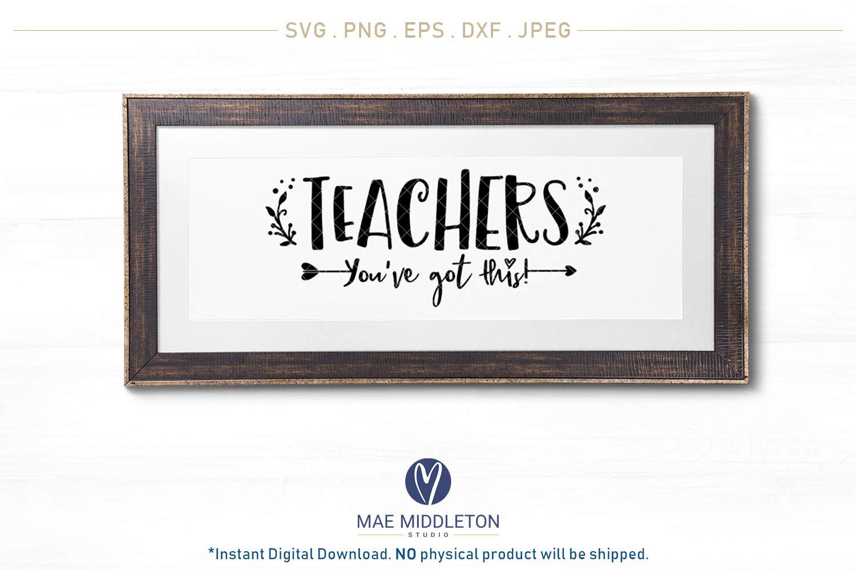 Teacher bundle - printables, svg cut files example image 2