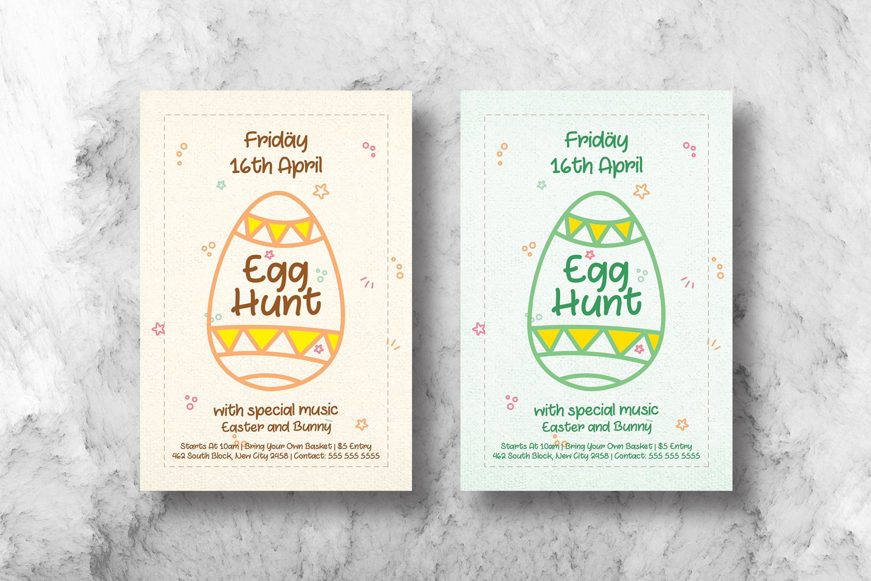 Easter Egg Hunt Flyer example image 1