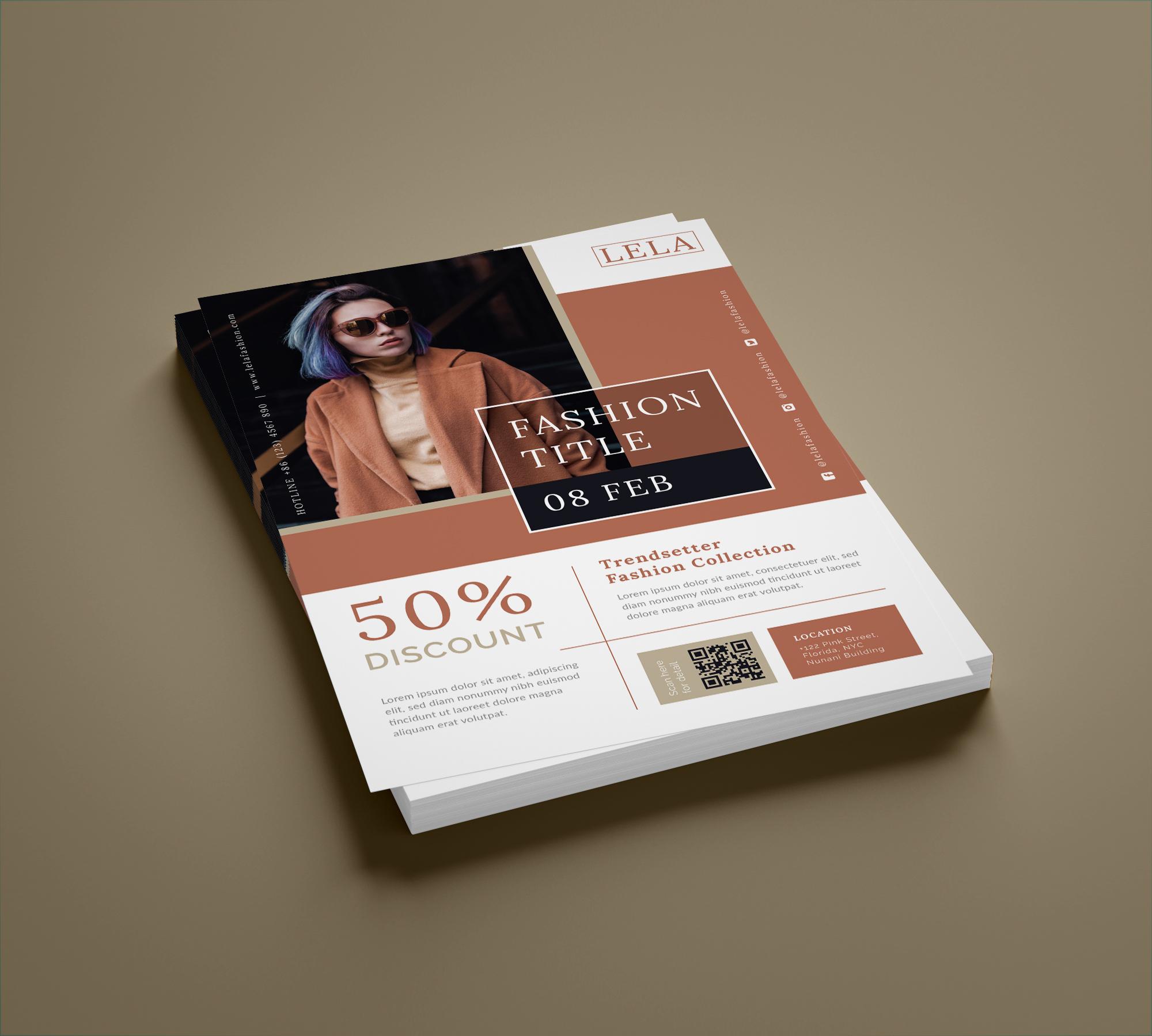 Fashion flyer example image 4