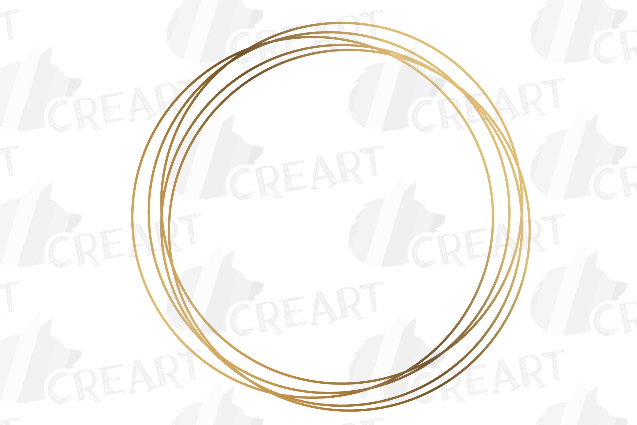 Elegant wedding geometric golden frames, lineal frames svg example image 7