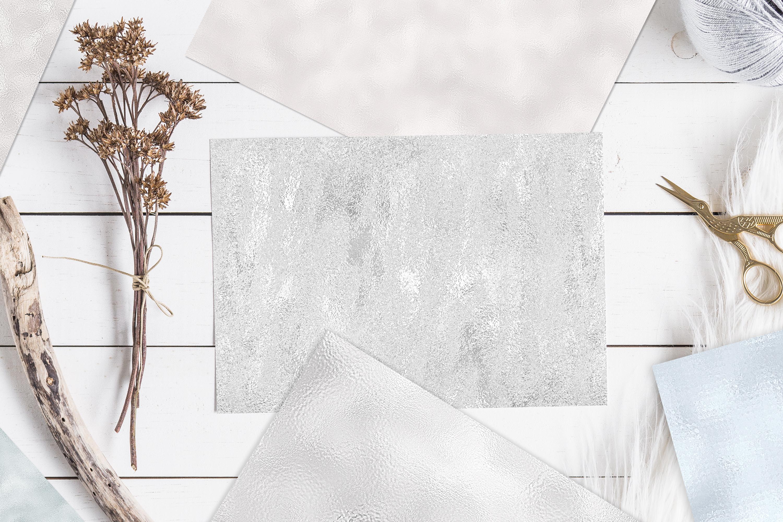 10 Diamond Foil Textures - Seamless Metallic Backgrounds example image 3