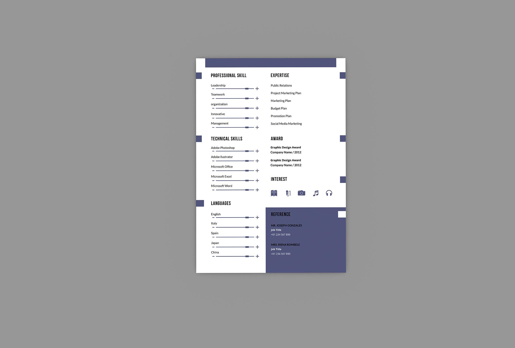 Alternatif Resume Designer example image 2