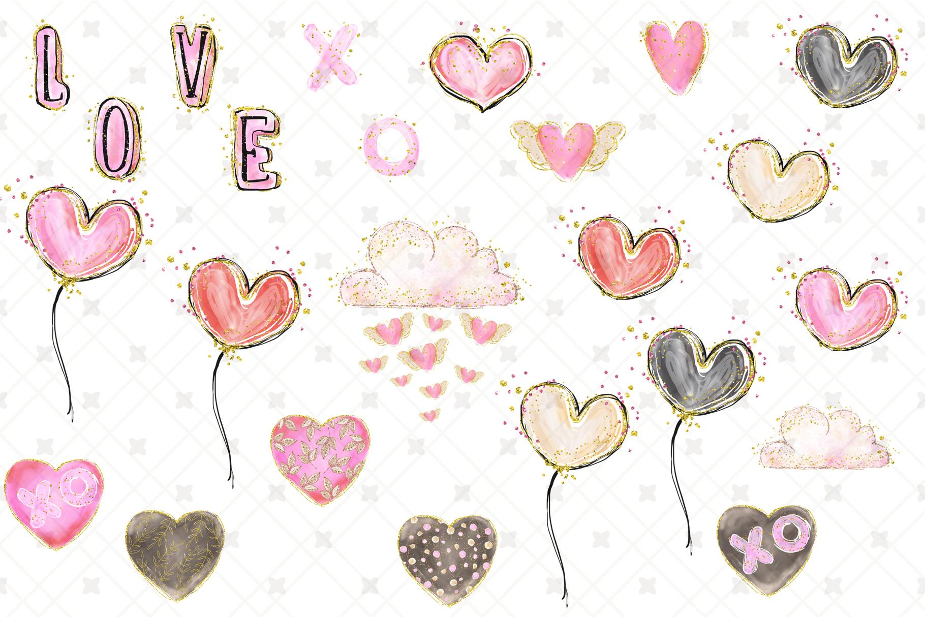 Valentine's clip art example image 9