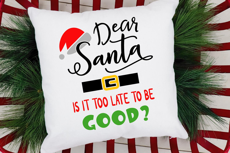 Dear Santa Christmas Bundle SVG cut files example image 10