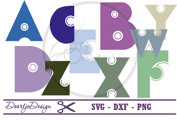 SVG Alphabet Bold example image 1