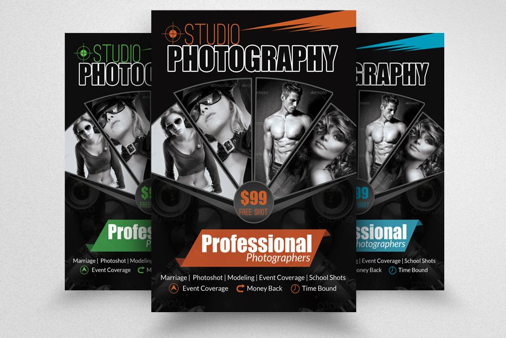 6 Photography Business Flyers Bundle example image 2