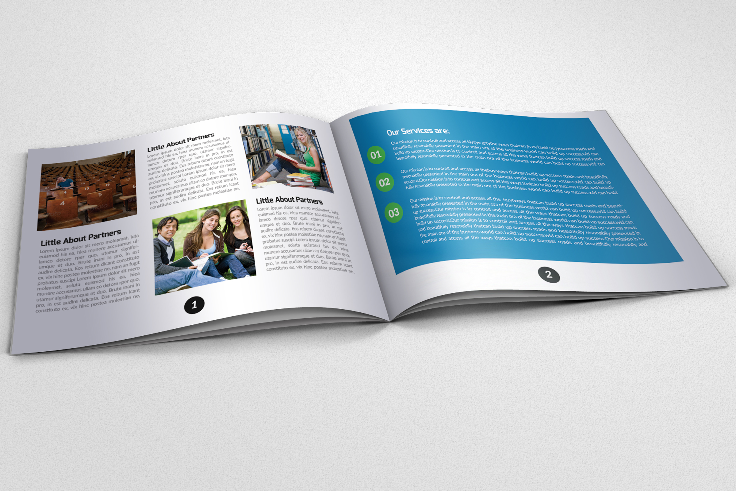 20 Pages Catalogue Education Bifold Brochure example image 7