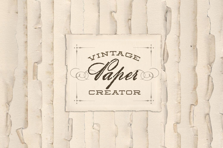 Vintage Paper Creator example image 2