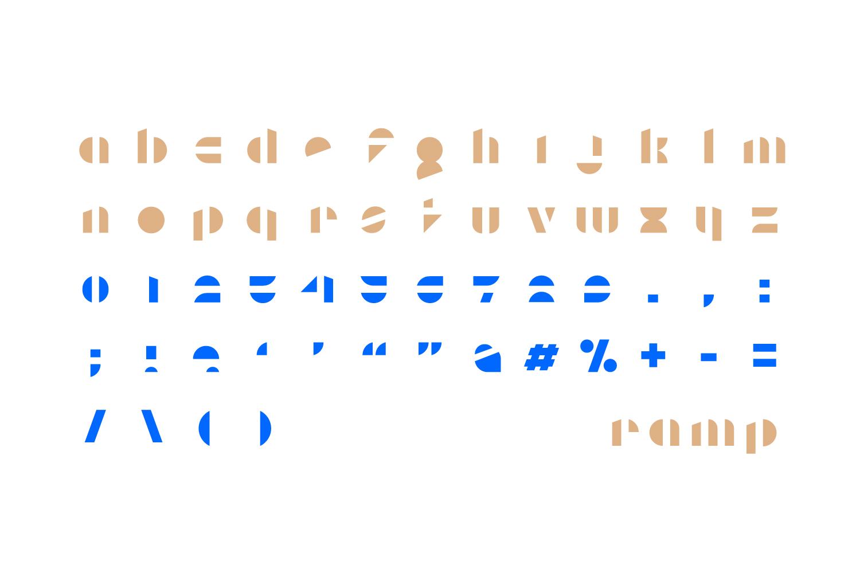 Ramp Display Font example image 2