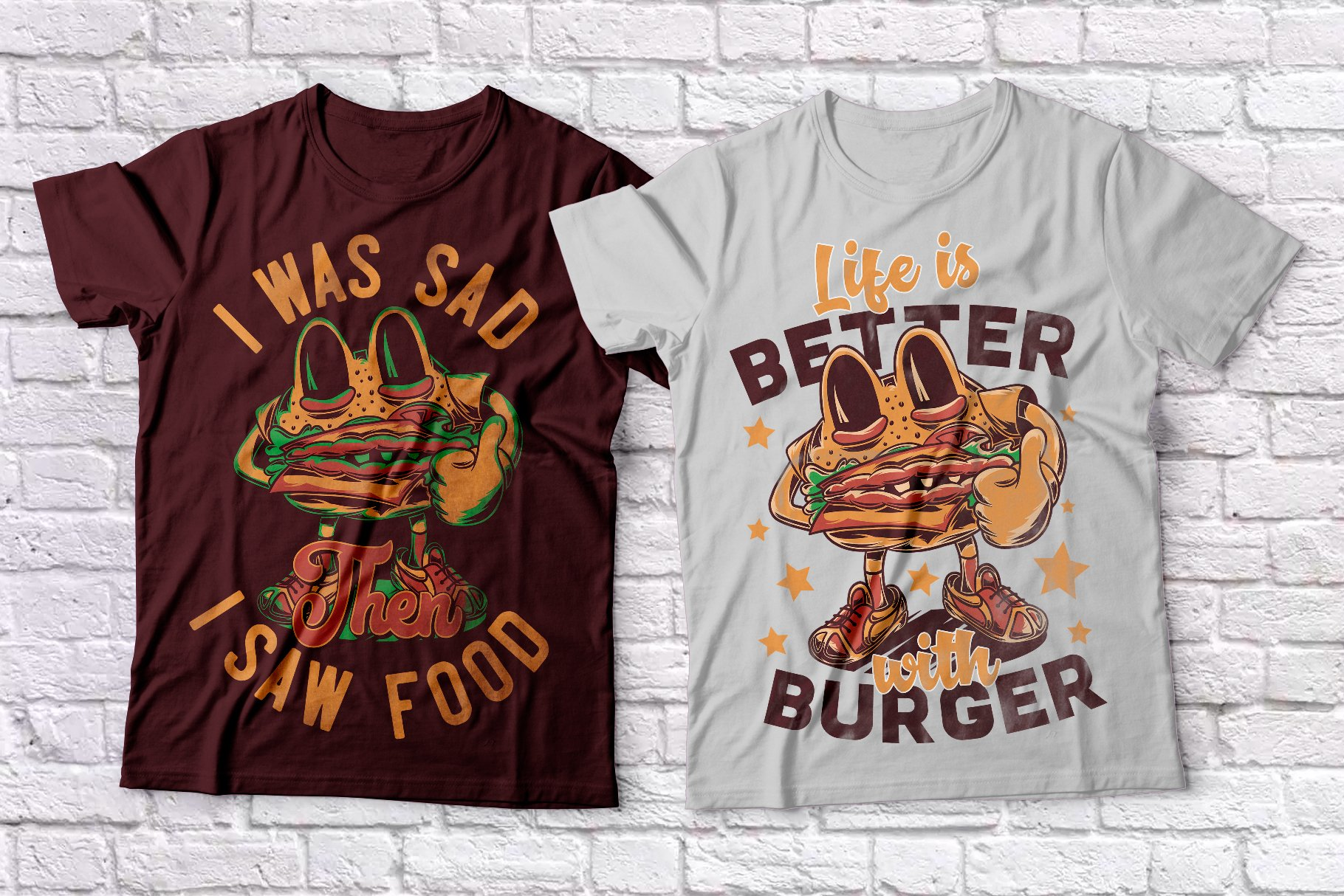 Fast Food T-shirts example image 4