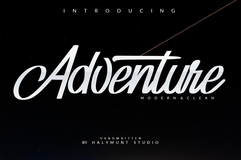 Adventure Typeface example image 1