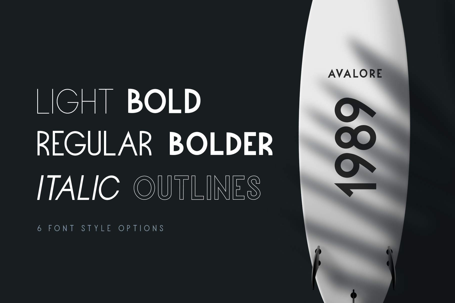 Avalore - Modern Font Family example image 2