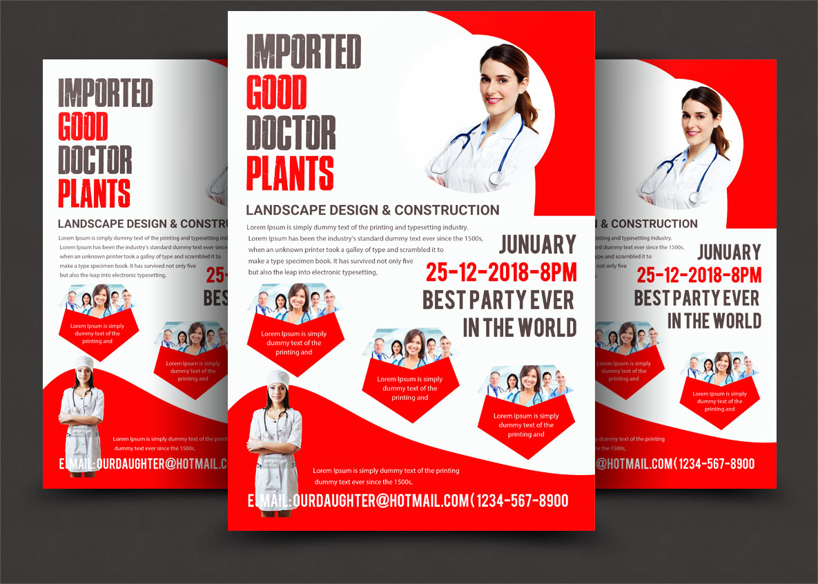 Doctor bundle psd 5 example image 6