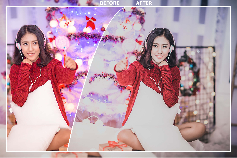 62 Christmas Mobile Lightroom Presets, X-mas Adobe LR preset example image 8