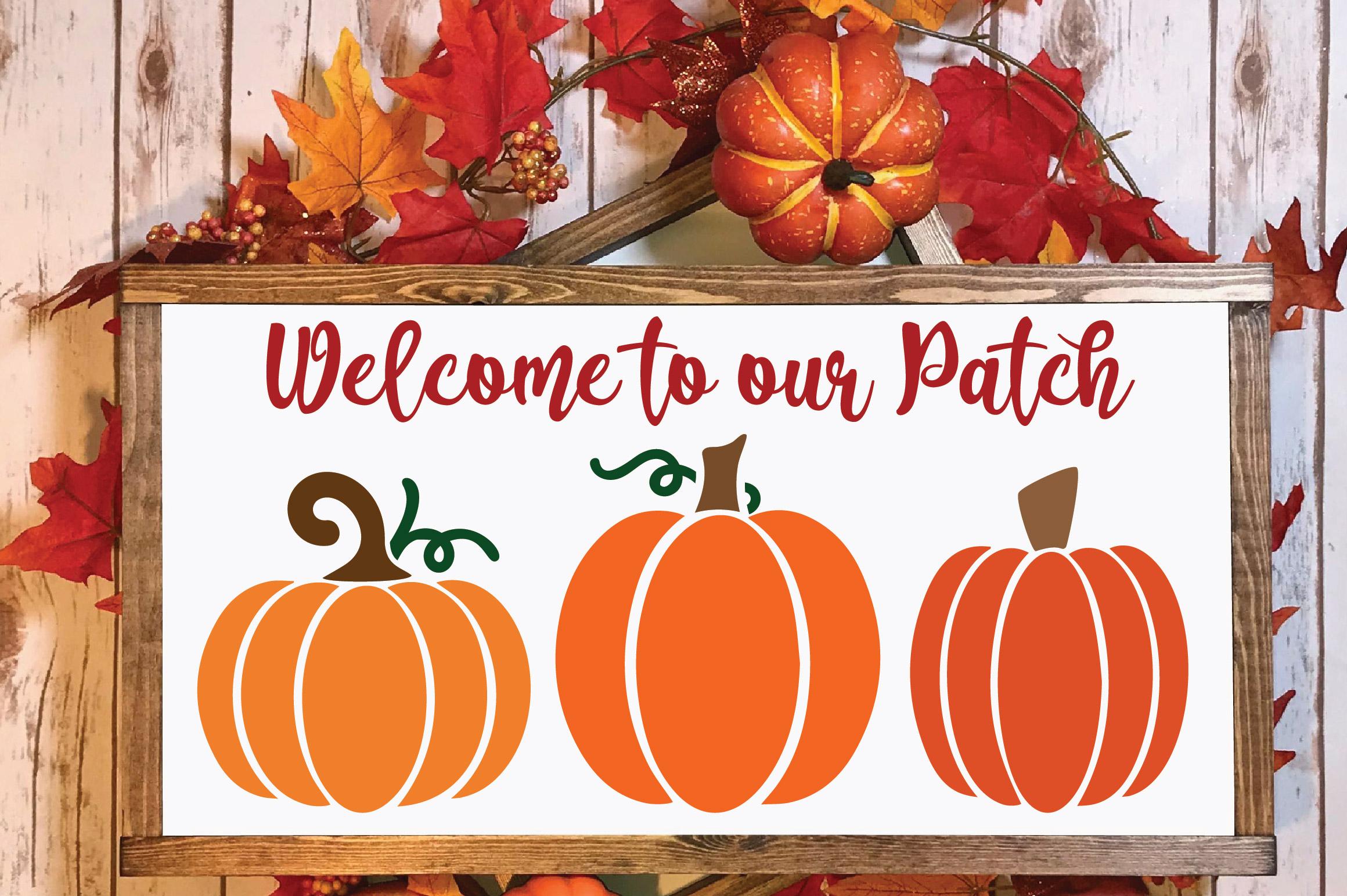 Pumpkins SVG Cut File Bundle example image 3