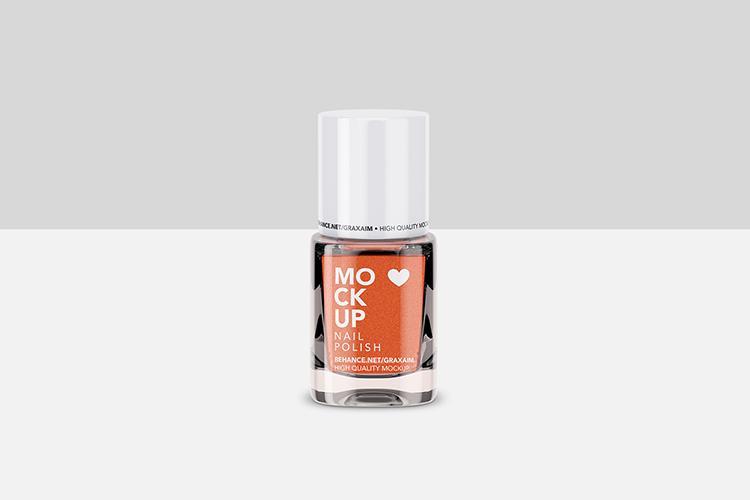 Nail Polish Mockup - Front View example image 2