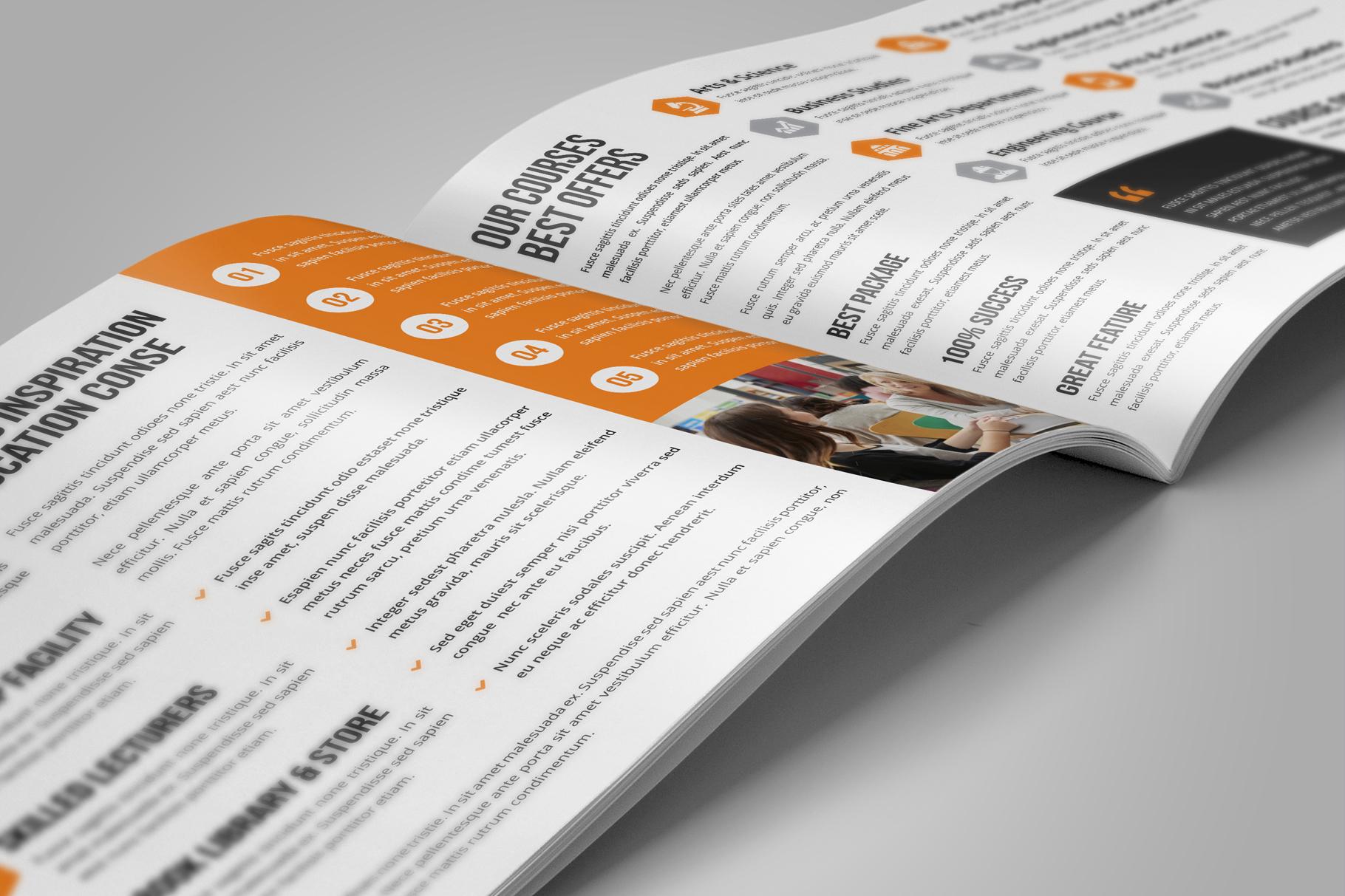 Education Prospectus Brochure v8 example image 5