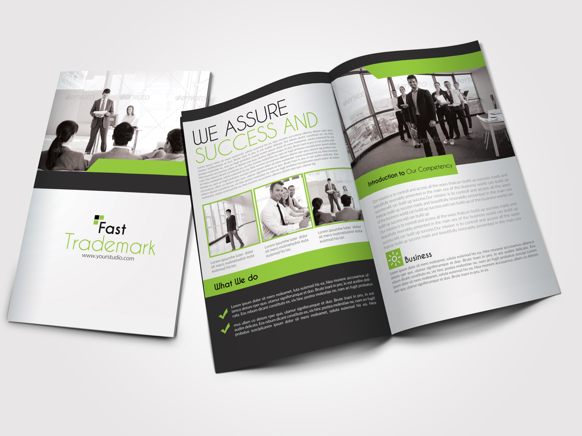 4 Pages Bifold Brochure example image 1