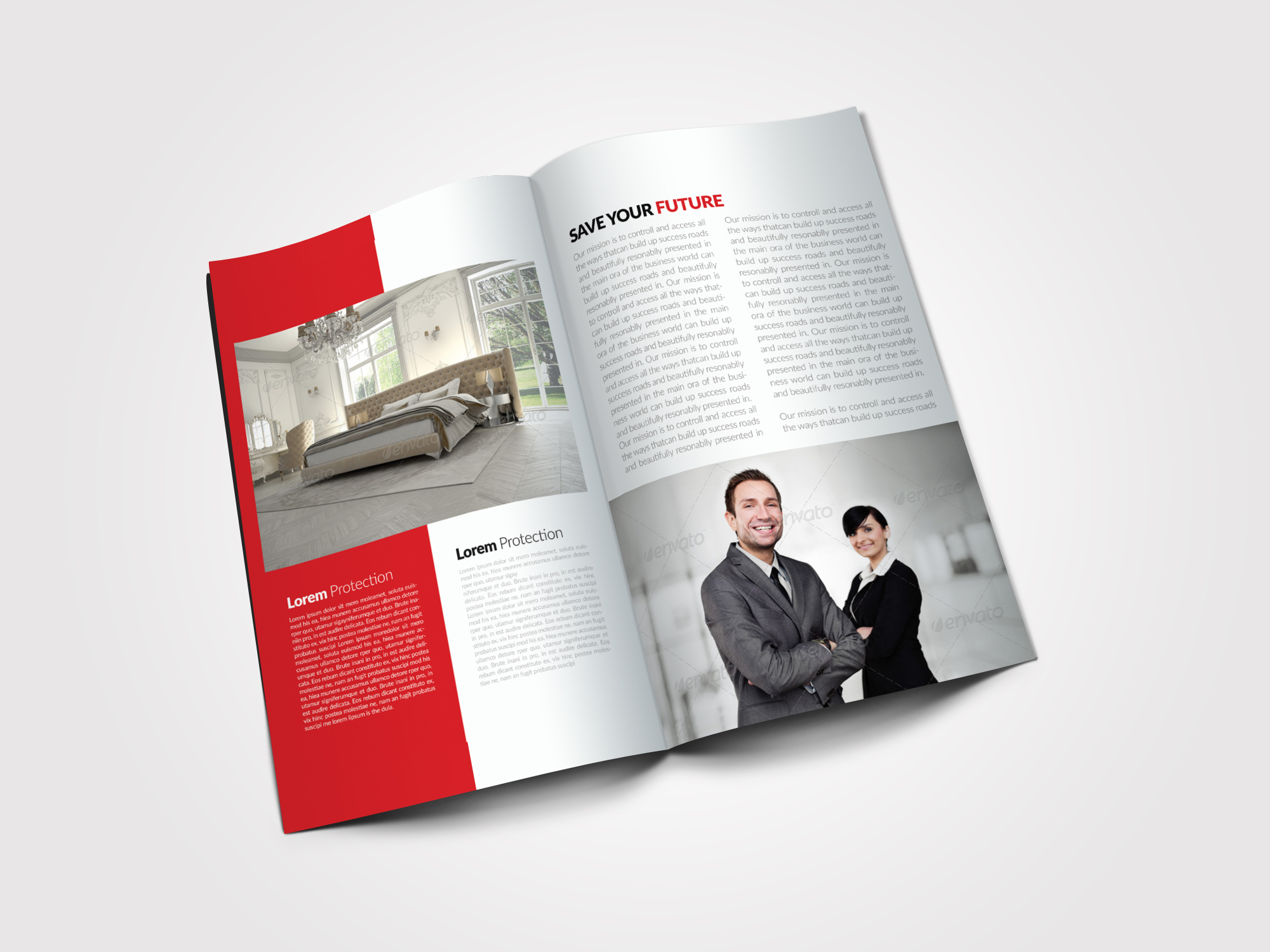 8 Pages Business Bifold Brochure example image 4